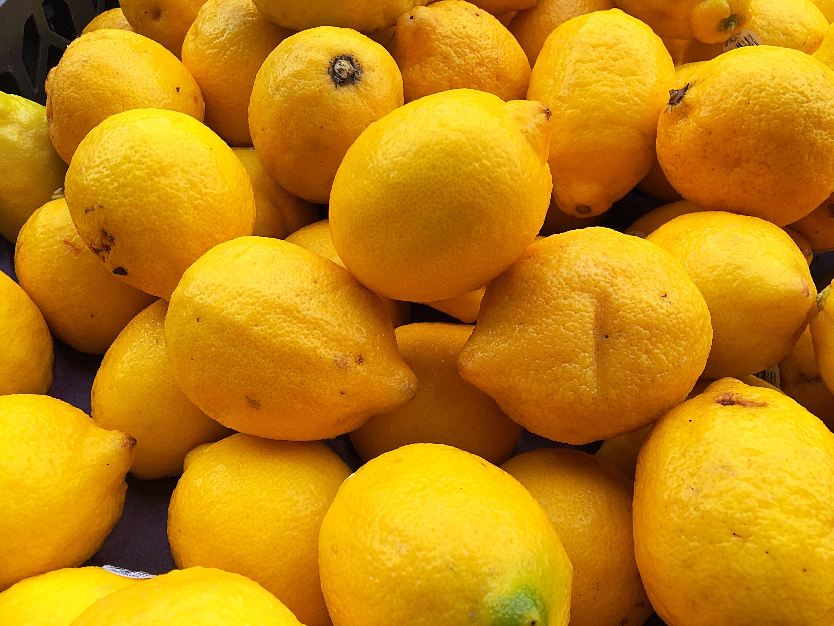 Free stock photo of farm, fruit, lemons, market