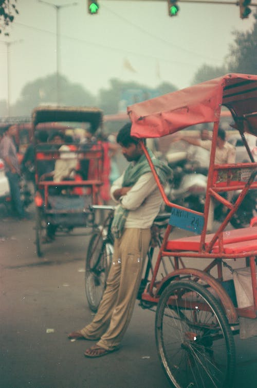Free stock photo of colors in india, india, man
