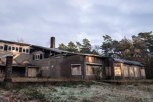 Fotos de stock gratuitas de abandonado, arboles, bungalow