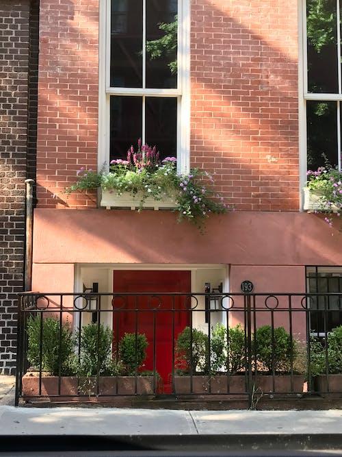 Fotobanka sbezplatnými fotkami na tému červená, červené dvere, Manhattan