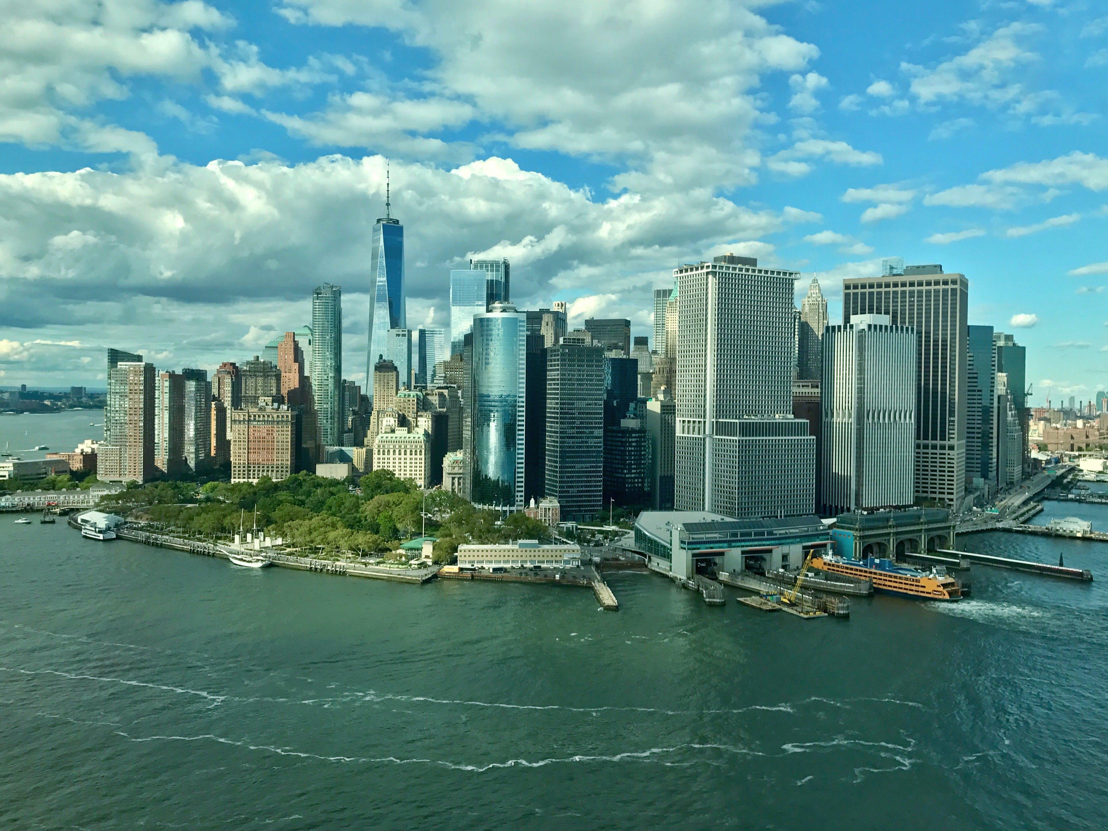 Free stock photo of united states of america, new york city, lower manhattan, Downtown Manhattan