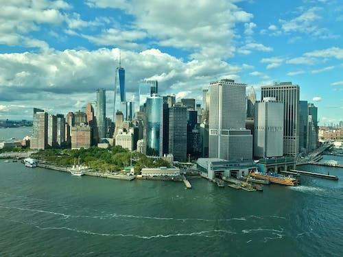 Free stock photo of downtown manhattan, lower manhattan, new york city