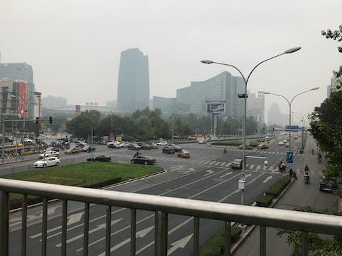 Free stock photo of cars, china, fog