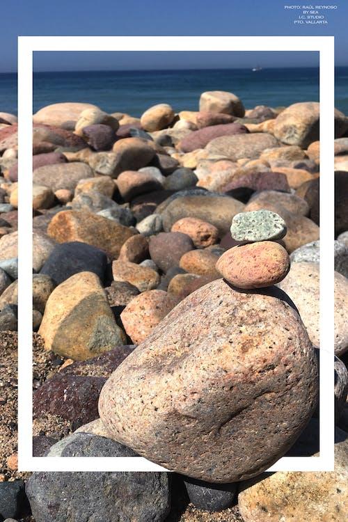 คลังภาพถ่ายฟรี ของ paz, playa, playa de mar, playa de roca