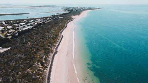 Coastline with Turquoise Sea