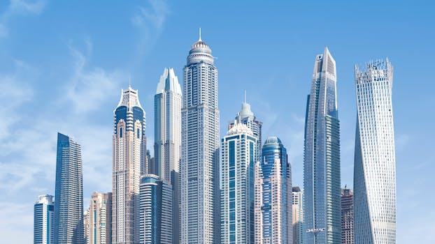 Free stock photo of city, sky, skyline, buildings