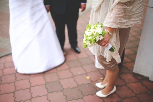 Foto d'estoc gratuïta de boda, casat, grapat, matrimoni