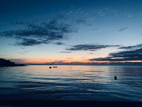 Free stock photo of at night, at the beach, baltic sea
