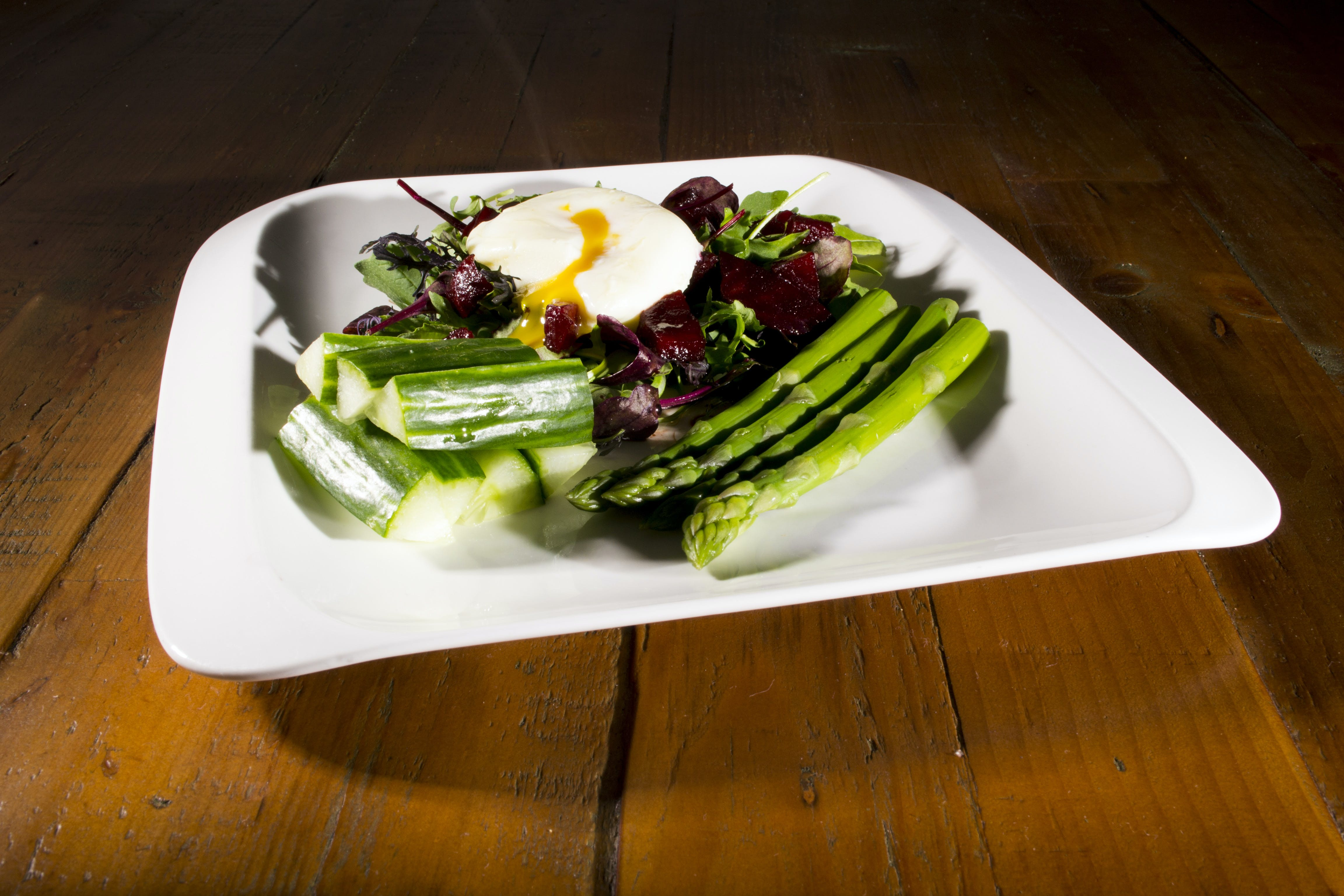 Free stock photo of asparagus, beetroot, cucumber, egg