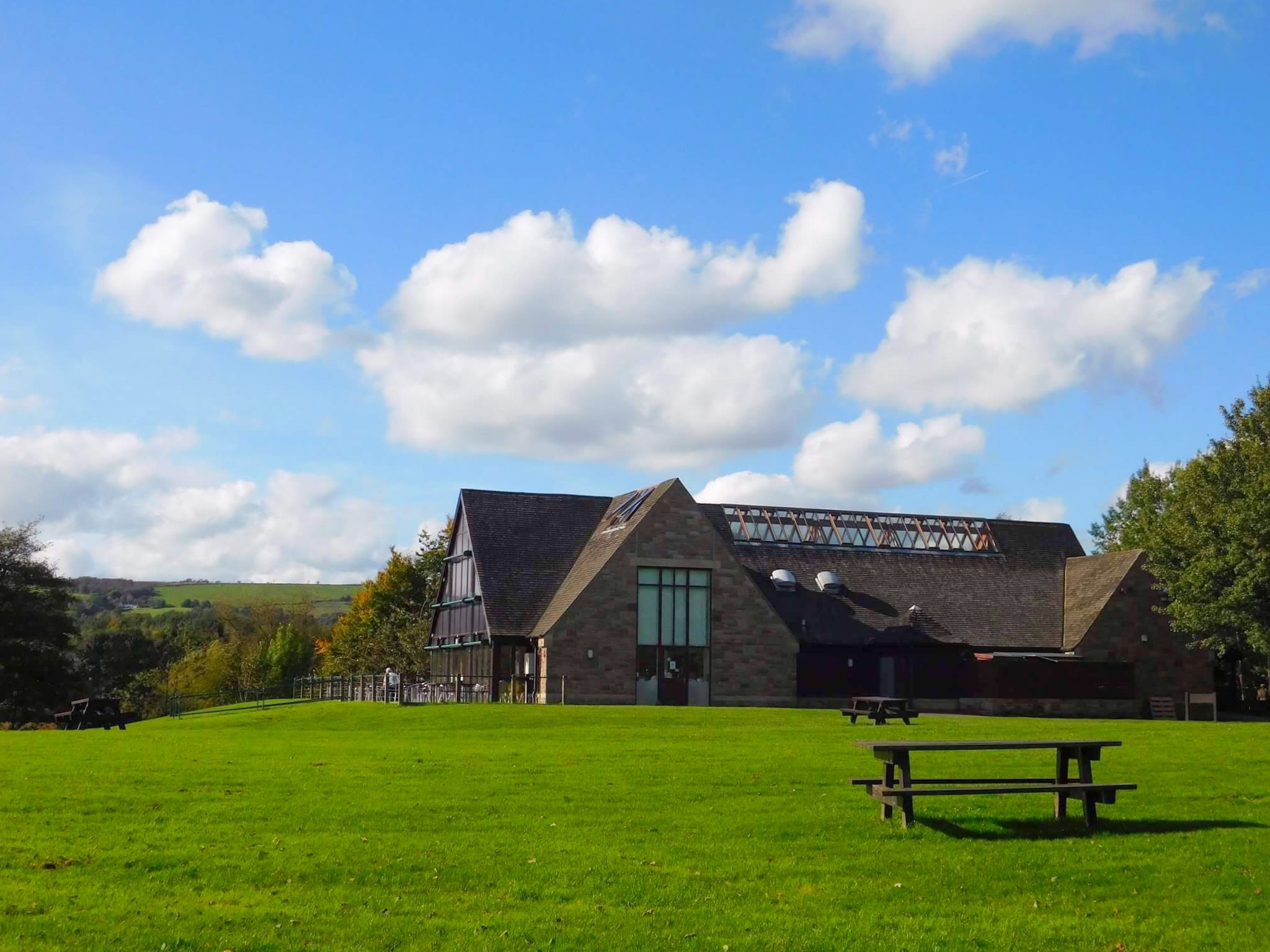 free stock photo of coffeehouse country house nature park