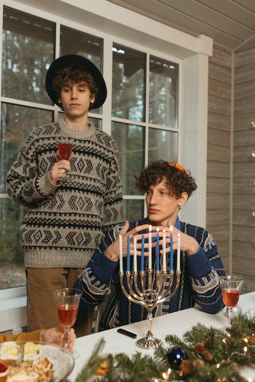 Imagine de stoc gratuită din bărbați, Crăciun, decor