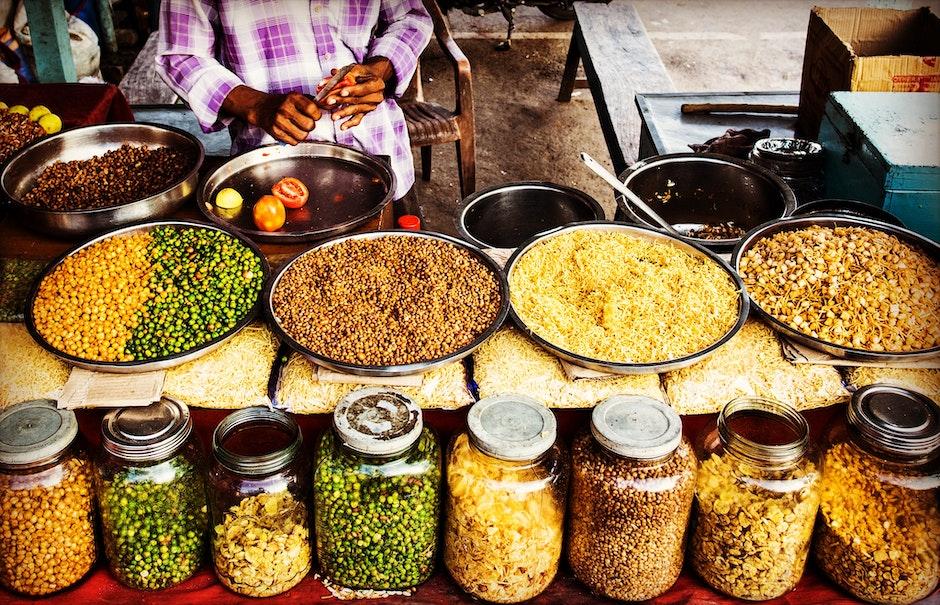 asian food, beans, cuisine