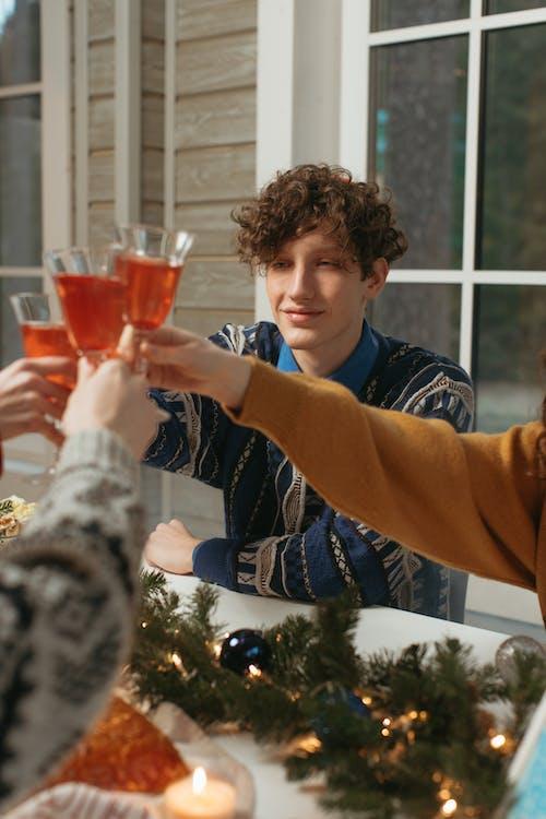 乾杯, 人, 假日 的 免費圖庫相片