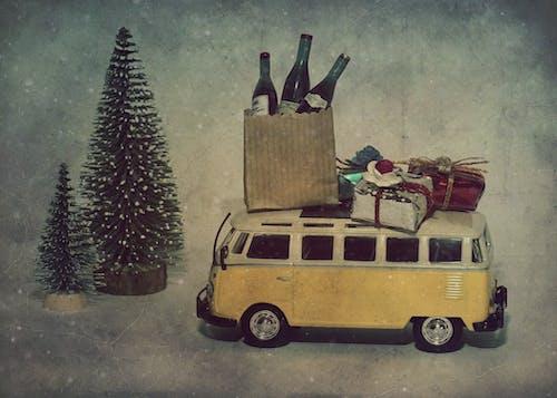 คลังภาพถ่ายฟรี ของ ของขวัญคริสต์มาส, คนตั้งแคมป์, คริสต์มาส, ฉลอง