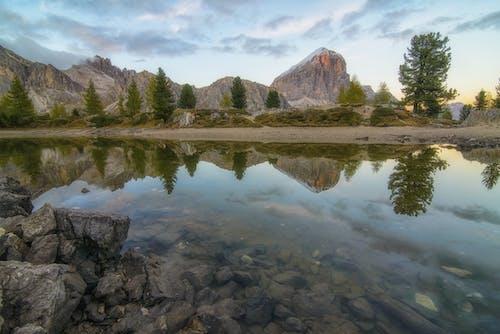 autunno, dolomiten, landsacpe, paesaggio 的 免费素材照片