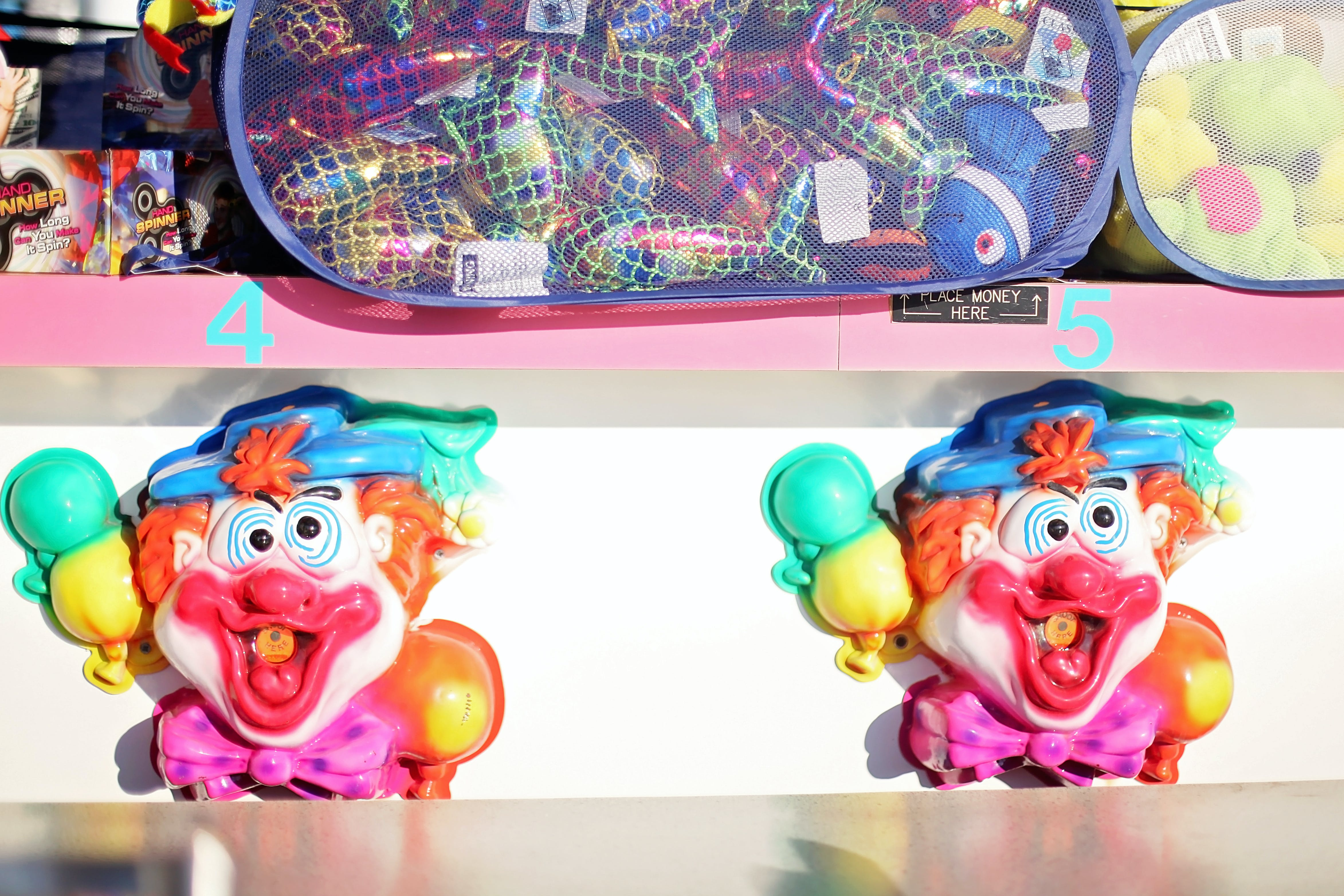 Free stock photo of summer, fair, clown, carnival