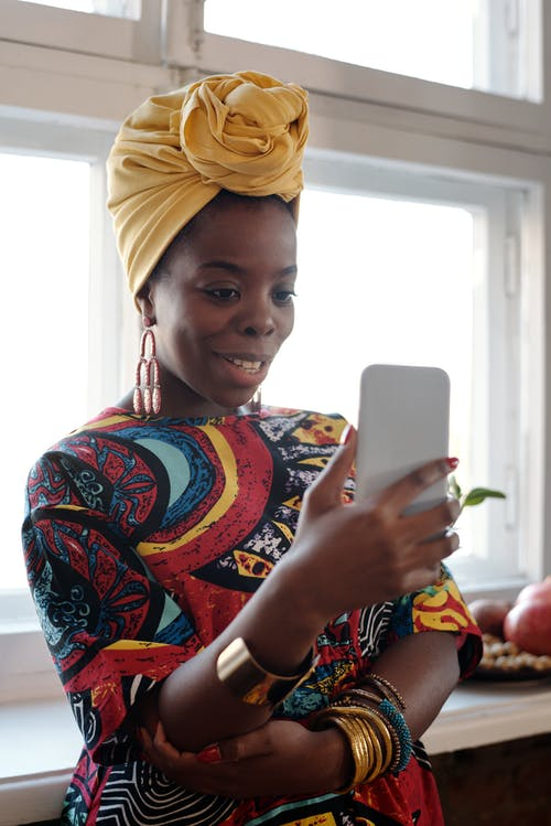 Photo Of Woman Having A Video Call On Her Phone
