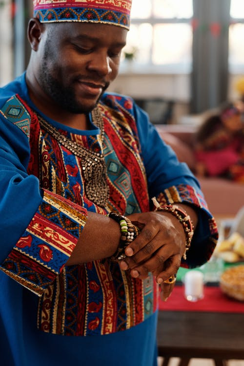 Photo Of Man Wearing Traditional Clothes