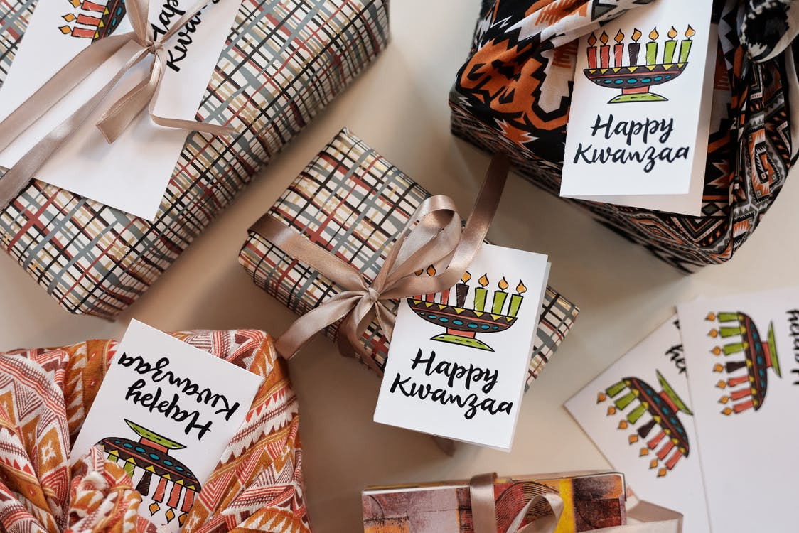Photo Of Gift Boxes With Greeting Cards