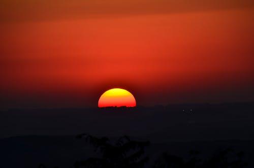 Free stock photo of puesta de sol