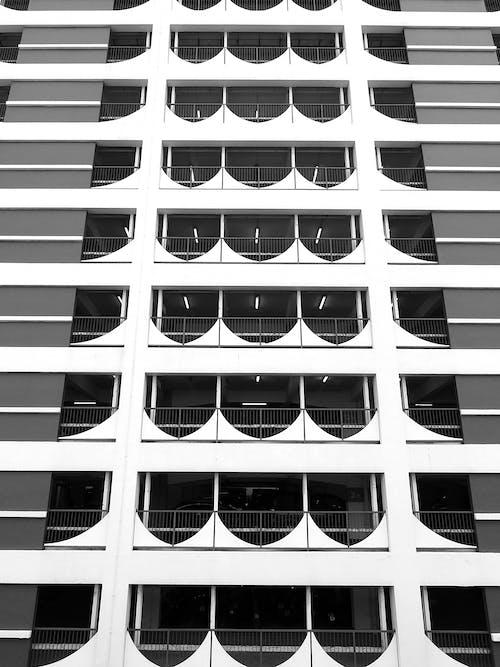 Darmowe zdjęcie z galerii z abstrakcyjny, architektura, balkon