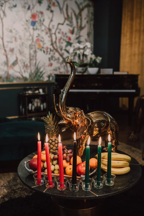 First Fruits And Seven Candles Of Kwanzaa