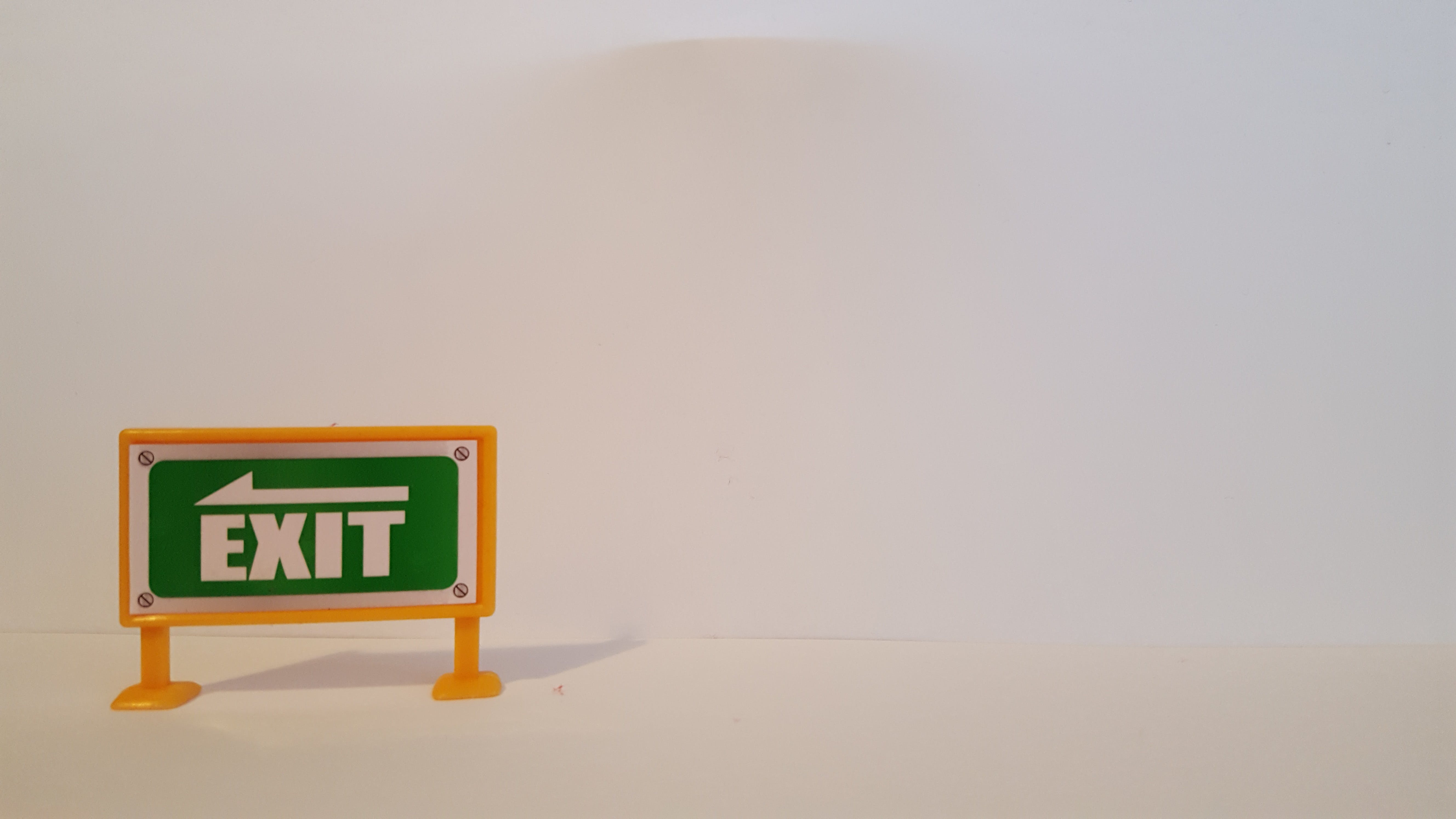 Free stock photo of exit, road sign