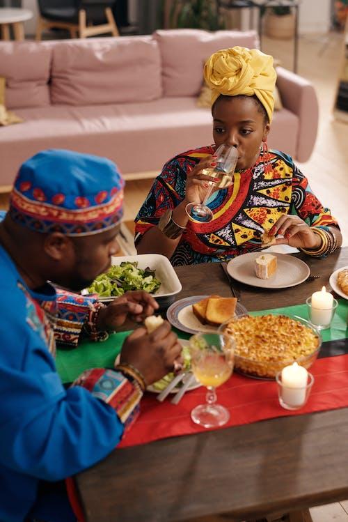 Photo Of People Having Feast