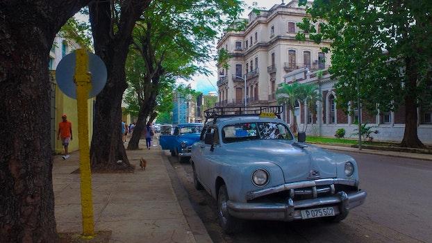 Free stock photo of street, car, photo, cuba