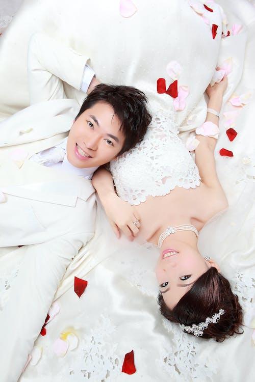 Free stock photo of happy couple, marriage, wedding