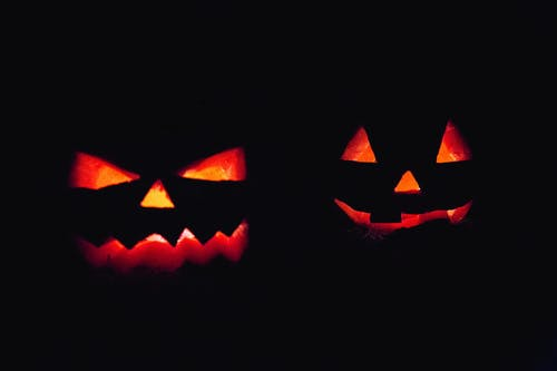 Lighted Jack-o-lantern Decors