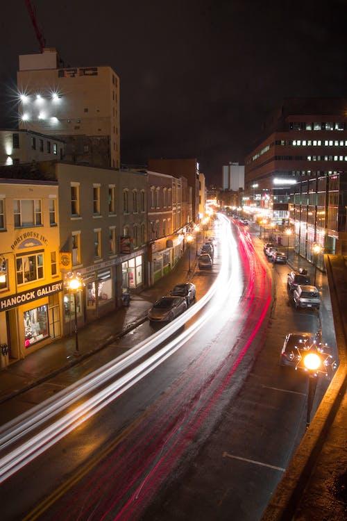 Lane, アスファルト, シティの無料の写真素材