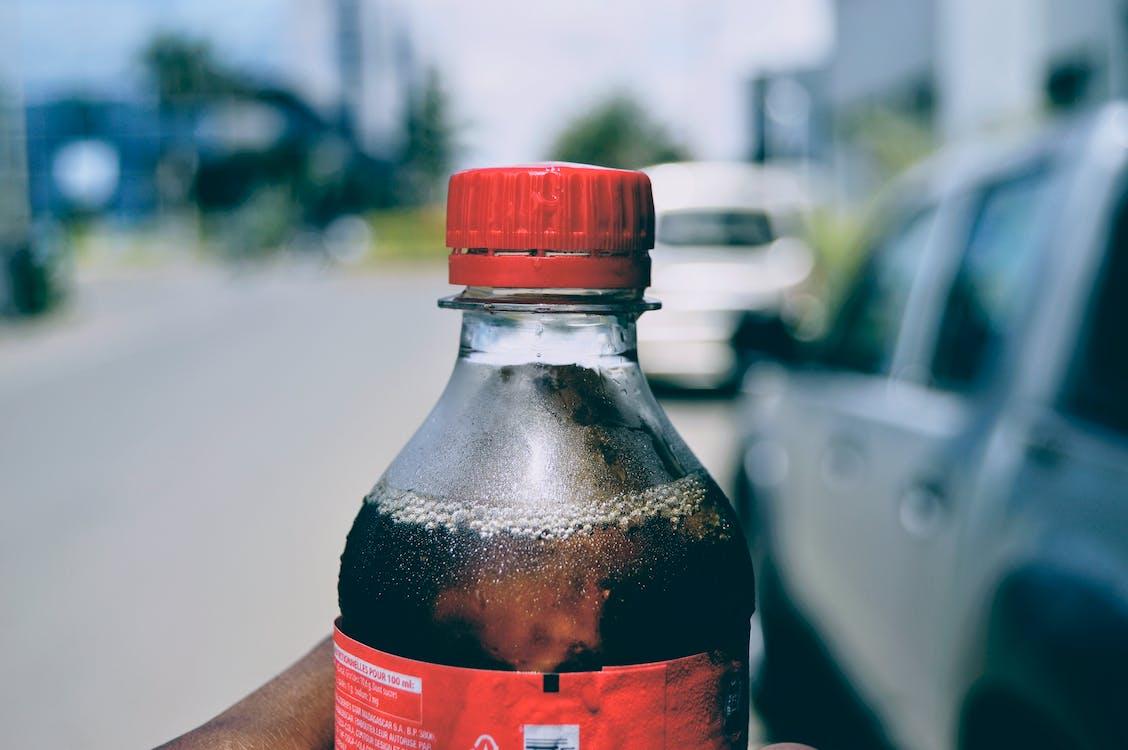bottle, coca cola, fresh