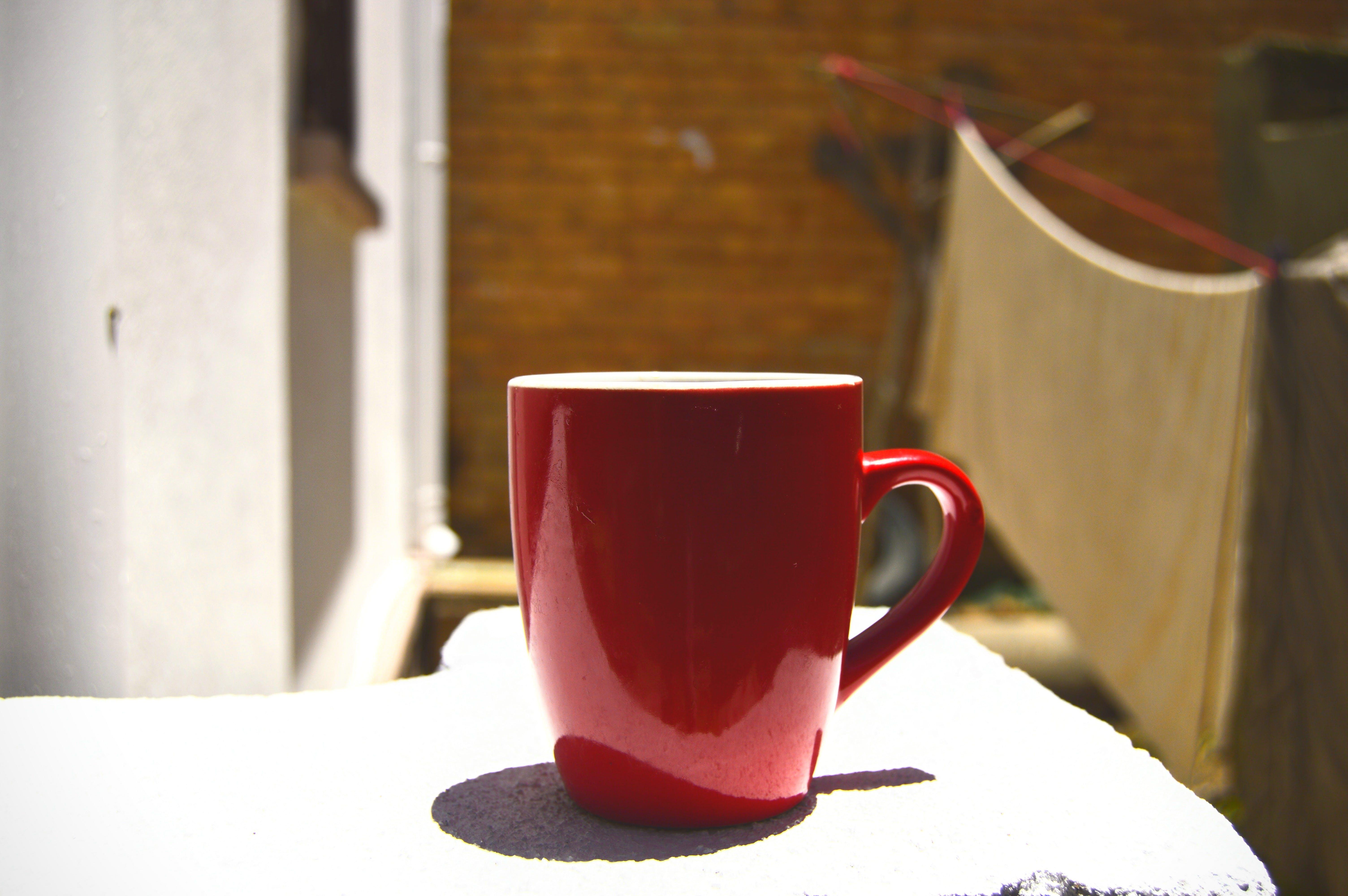 Free stock photo of mug, red, tea