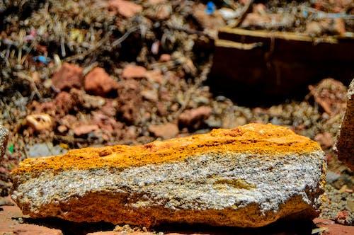 Kostenloses Stock Foto zu felsen, nahansicht, sediementary, sedimente