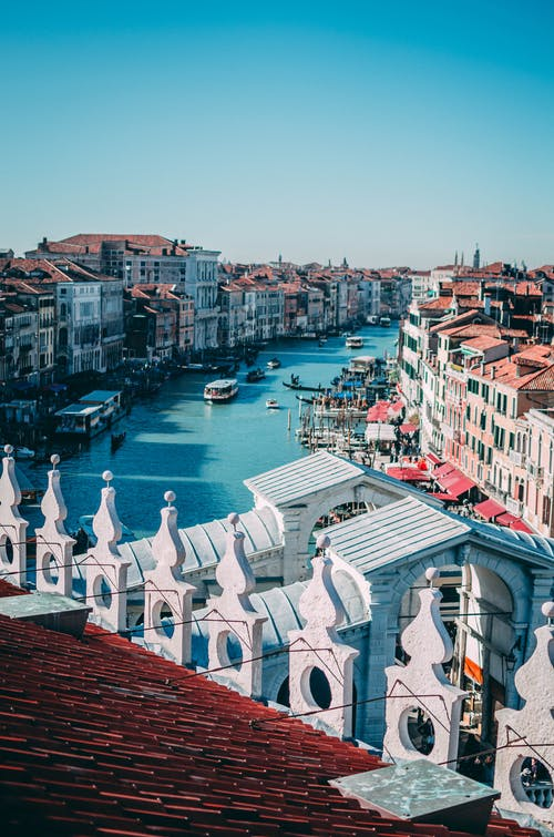 Free stock photo of architecture, building, canal
