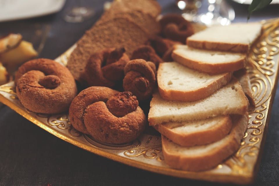 Bagels and bread