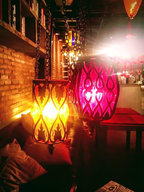 Free stock photo of coffeeshop, light, maancafe