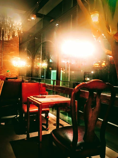 Free stock photo of chairs, coffeeshop, emptiness