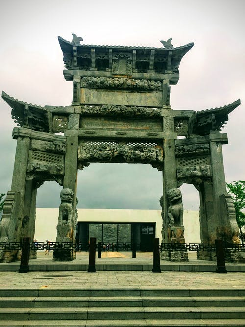 Free stock photo of ancient, china, gate