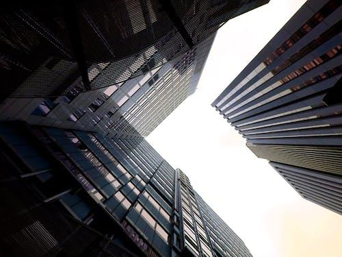가벼운, 강철, 건물, 건물 외관의 무료 스톡 사진