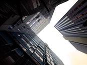 light, city, sky