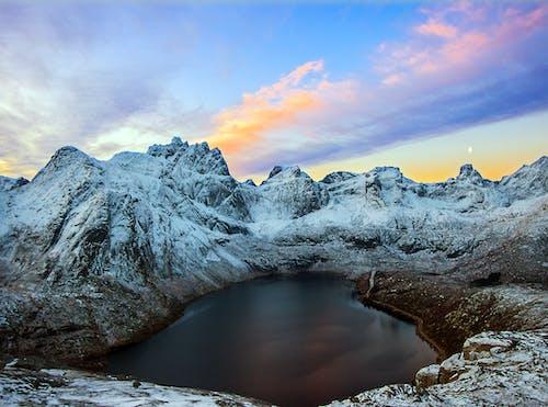 Free stock photo of arctic landscape, beach waves, coastal landscape, coastal scenery