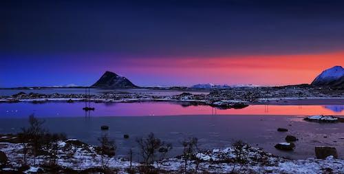Free stock photo of arctic daylight, beach, dark time of the year, dawn
