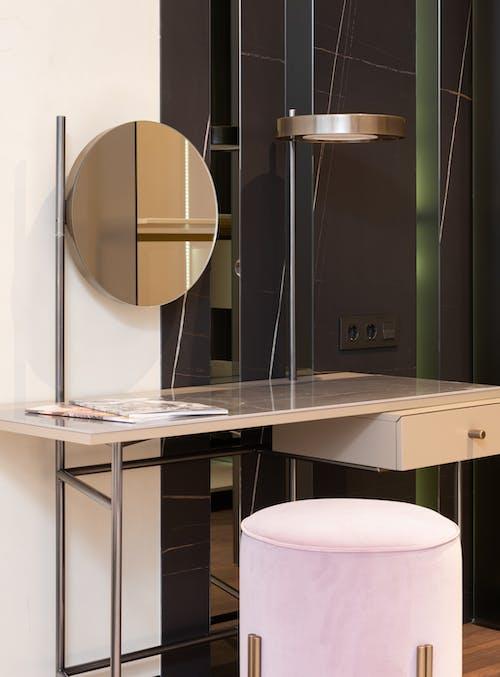 Modern vanity table in stylish room