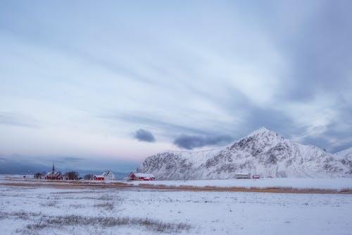 Free stock photo of adventure, arctic landscape, church, cold