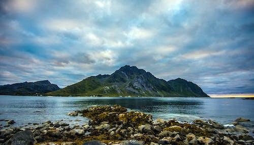 Free stock photo of arctic, arctic summer, beach, coastal mountain