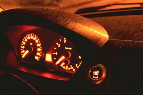 Free stock photo of auto, car, cluster, dash