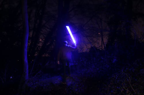 Free stock photo of blue light, night, star wars