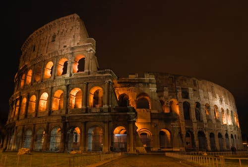 Free stock photo of amphitheater, ancient, ancient roman architecture